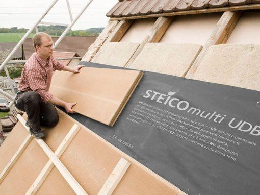 Mise en oeuvre d'isolation sur toiture inclinée SARKING