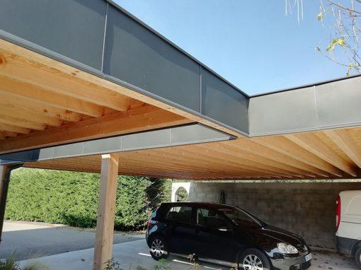 Garage en toit-terrasse pour véhicules